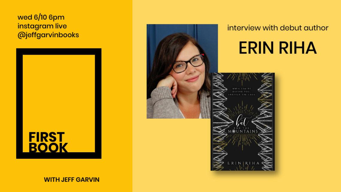 First Book Jeff Garvin Erin Riha